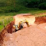 aluguel de mini escavadeira construção civil Cotia