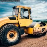 equipamentos de compactação do solo