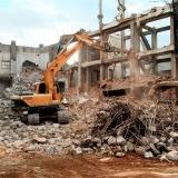 demolição controlada orçamento Jardim Bonfiglioli