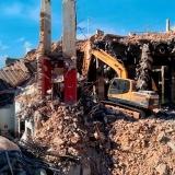 demolições construções civis Freguesia do Ó