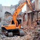 demolições controladas Praça da Arvore