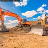 empresa de escavação terreno Praça da Arvore