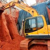 nivelar terreno aclive para construção Vila Pompeia