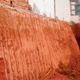 nivelar terreno para construir Vila Medeiros