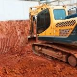 nivelar terrenos declive para construção Alto de Pinheiros