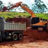 onde faz serviço de nivelar terreno para construção Vila Sônia