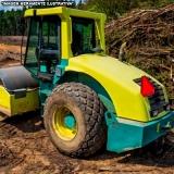 serviço de compactação do solo construção civil Rio Pequeno