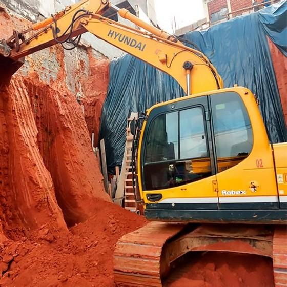 Aluguel Retroescavadeira Bairro do Limão - Locação de Mini Escavadeira para Obras