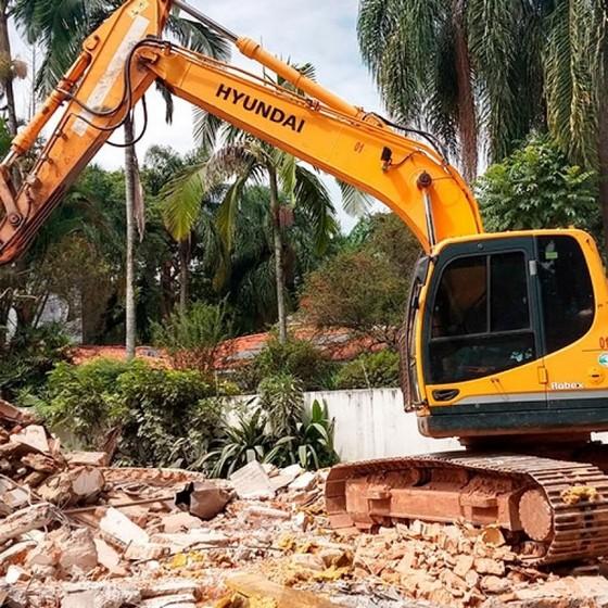 Demolições Mecanizadas Pacaembu - Demolição de Galpão