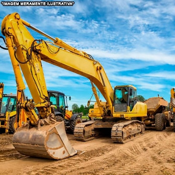 Empresa de Locação de Mini Escavadeira para Obras São Domingos - Aluguel de Mini Escavadeira Hidráulica