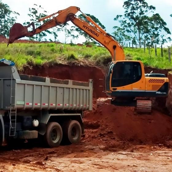 Empresa de Transporte de Terra CTR Cachoeirinha - Transporte de Terra com Fornecimento de CTR Eletrônico
