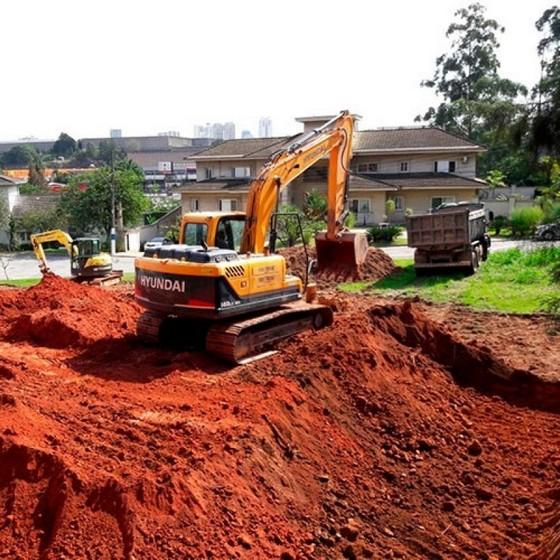 Limpeza de Terrenos para Construção Alphaville - Limpeza de Terreno com Escavadeira