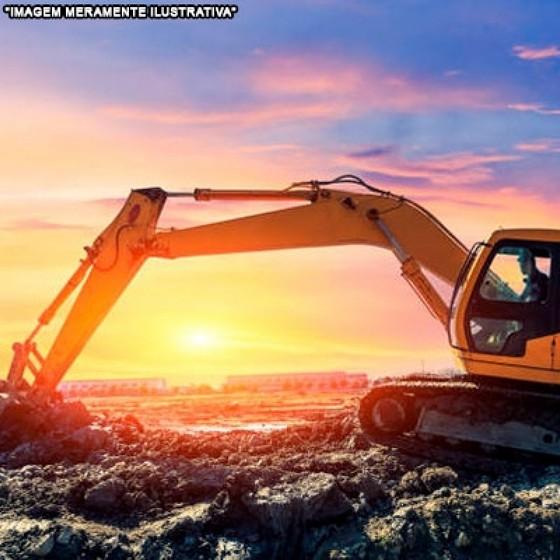 Locação de Mini Escavadeira para Obras Jaçanã - Locação de Mini Escavadeira Hidráulica