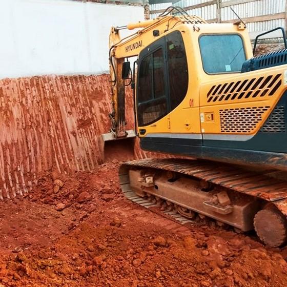 Nivelar Terrenos Declive para Construção Lapa - Nivelamento de Terreno Aclive