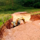 aluguel de mini escavadeira construção civil