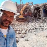 demolição construção civil orçamento Santana