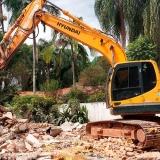 demolição de concreto armado orçamento Vila Romana