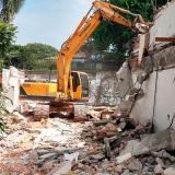 demolição de prédio