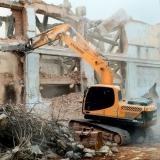 demolição industrial