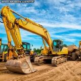 empresa de locação de mini escavadeira para obras Perus