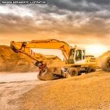 escavação terraplanagem