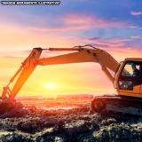 locação de mini escavadeira para obras Raposo Tavares