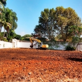 máquina para limpar terreno Vila Pompeia