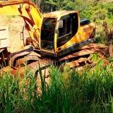 onde tem trator para limpeza de terreno Vila Romana