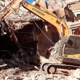 orçamento demolição de muros Sumaré