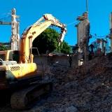 quanto custa demolição e terraplanagem Jaguaré