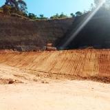 serviço de nivelamento de terreno declive Bairro do Limão