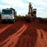 transporte de terra CTR Vila Romana